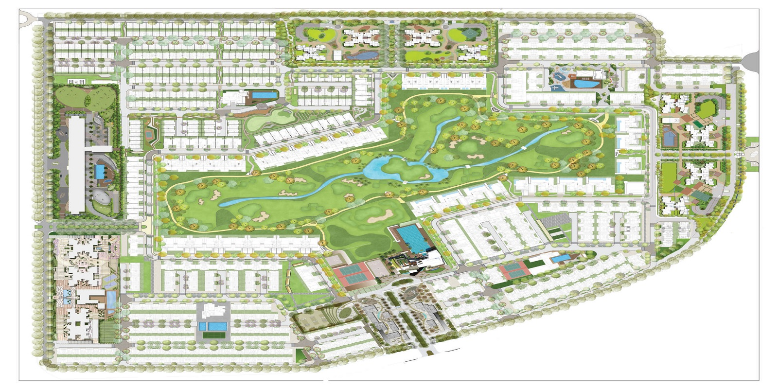 Godrej Evoke Villas Layout Plan
